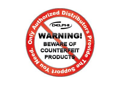 Media Library - Delphi Counterfeit Warning Small