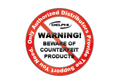 Media Library - Delphi Counterfeit Warning Small