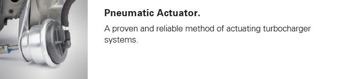 Media Library - Delphi Turbo pneumatic actuator