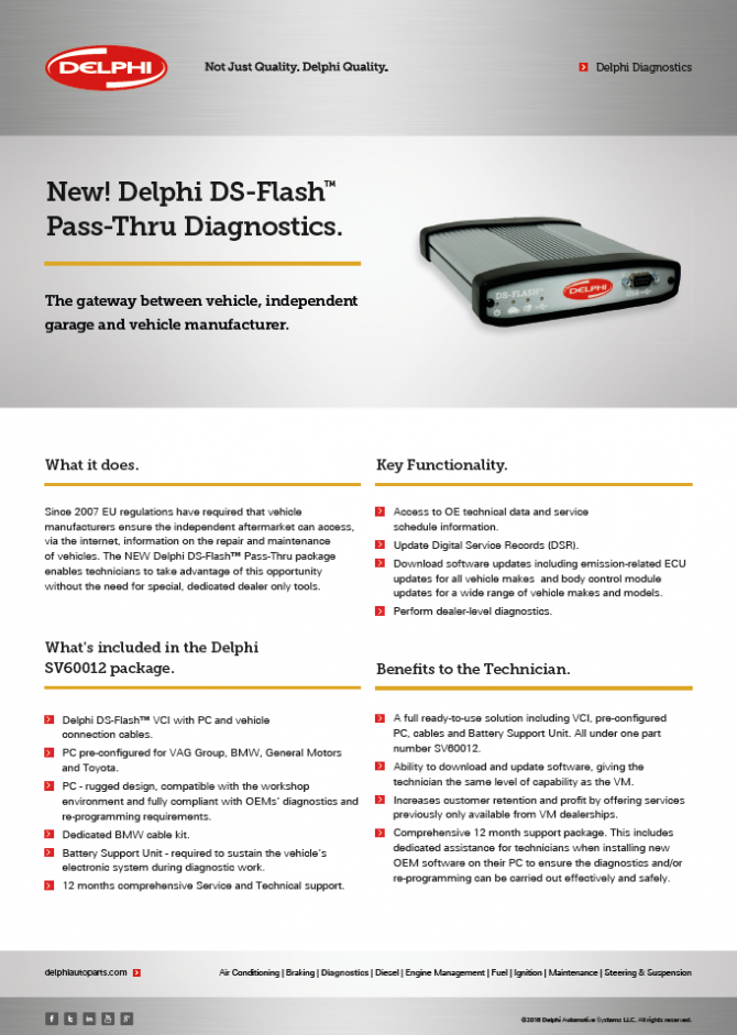 Media Library - Delphi DS Flash